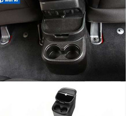 scatola di immagazzinaggio dell'automobile Sconti MOPAI ABS Car Interior Posteriore Tazza di acqua Titolare Storage Box Pocket Organizer per Jeep Wrangler 2011 Up 4 Door