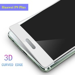 2019 защитная пленка для экрана мобильного телефона Full CoverTempered Glass For Huawei P9 P9 Plus 3D Soft border Screen Protector For Huawei Plus Mobile phone protective film скидка защитная пленка для экрана мобильного телефона