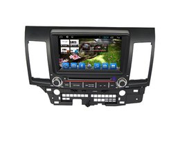 Wholesale Mitsubishi Charger - In Dash Car Dvd Gps Navigation System for Mitsubishi Lancer  Ex Built-in Wifi and 3G, fast speed surfing