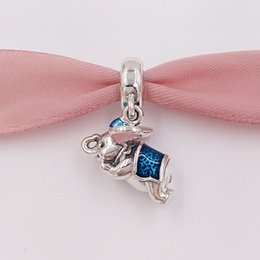 Wholesale Fly Charm - nbn89 Flying Dumbo 925 Sterling Silver Beads Charms Fit European Pandora Style Jewelry Bracelets & Necklace Free Shipping