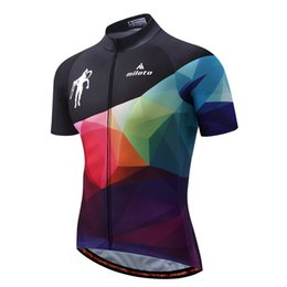 Wholesale Women S Bikes - Bike Team Pro Cycling Jersey Ropa Ciclismo 2018 mtb Bicycle Cycling Clothing Summer Bike Jersey Shirt Maillot Ciclismo free shipping