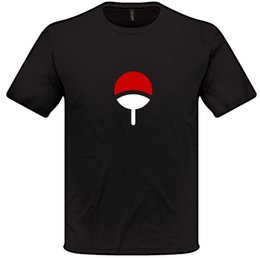 cosplay manga Coupons - Naruto Uchiha Clan Symbol T Shirt S-XXL Mens Womens Anime Manga Cosplay
