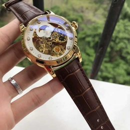 Wholesale Top Lady Nude - 2018 Mens Watches top Brand Luxury AAA women Mechanical watch Ladies automatic Creative tops watch Relogio masculino free shipping