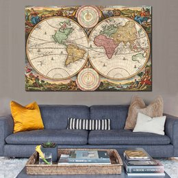 canvas wall art maps nz wall pictures for living room old world map canvas art