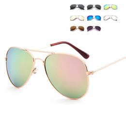 Прекрасный бренд-дизайнер-солнцезащитные очки-для-детей-прохладный-зеркало-металл-рамка-дети-солнцезащитные очки-девушки солнцезащитные очки от Поставщики детские очки оправы для детей