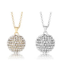 Wholesale jewelry diamonds perfume - Angel Bola Diamond ball Aroma Pendant Ball Maternity Gift For Baby Metal Perfume Pendant DIY Necklace Cage Miagic Jewelry