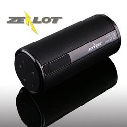 ZEALOT Sem Fio Bluetooth Speaker S8 Ourdoor portátil Altavoces Haut ParleurTouchPanel 4000 mAhPowerbank HI-FI Som Estéreo Handsfree TF Cartão de Fornecedores de pequenos alto-falantes