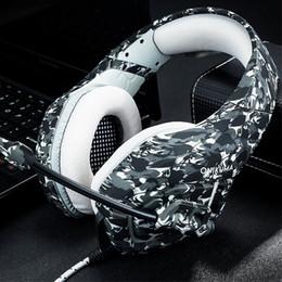 jogos para xbox one Desconto ONIKUMA K1 Baixo Gaming Headphones Jogo Fones De Ouvido Camouflagefor PC New Xbox One Gaming Headphone Jogo Do Fone De Ouvido