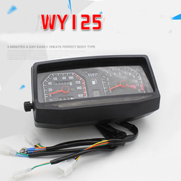 Wholesale Part 125 - Motorcycle Parts Old Models WY125-A-C-F, 125 Mechanical and Electronic Code Table, Instrument Assembly
