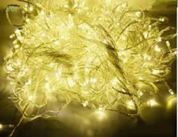 Wholesale Twinkling White Stars Decorations - 50 meters 400 LED String Lighting Fairy Christmas Light Outdoor Wedding lights waterproof Twinkle Decoration EU Plug Tree Lights LLFA
