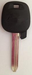 Freies verschiffen TOYO28RP Für TOYOTA transponder schlüsseloberteil, mit einlegeteil auto schlüsselrohling, hochwertige autoschlüssel leer von Fabrikanten