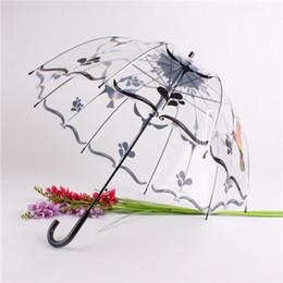 Apollo parapluie bulle dôme profond transparent avec des motifs semi-automatique décoration des pluies à la mode FEDEX livraison gratuite ? partir de fabricateur