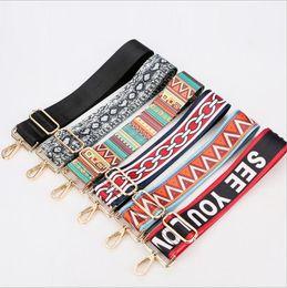 Nuovo con tracolla in cotone accessori borsa ampia con accessori tracolle borsa a tracolla diagonale selvaggia a tracolla a tracolla da