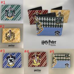 billetera mágica de alta calidad Rebajas Nueva alta calidad Harry Potter para mujer carteras y monederos de cuero cortos hombres Anime Magic carteras tarjetas cremallera monedas bolsas feminina 5 estilos