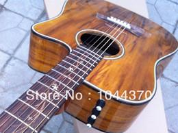 Canada vente en gros guitare acoustique K24CE série Koa Offre