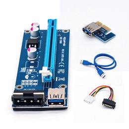 Toptan USB 3.0 PCI-E Yükseltici Express 1X 4x8x16x Genişletici Yükseltici Adaptör Kartı SATA 15pin Erkek 6pin Güç Kablosu nereden