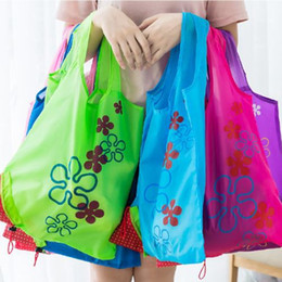 Wholesale Folding Fabric Shopping Bag - Mixture Color Reusable Shopping Bags,Foldable Tote Eco Grab Bag with Handles,Grocery Shopping Bags 20pc wn428
