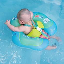 Brinquedos infláveis antigos on-line-Nova 0-6 Anos de Idade Bebê Inflável Armpit Anel de Natação Strap Proteção Crianças Flutuante Piscina de Natação Acessórios