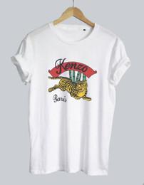 Tigre Bambou Soutien Dropship O77 Blanc Hommes Femme T-shirt Unisexe Tumblr Tee ? partir de fabricateur