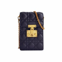 Wholesale Iphone Crossbody Bag - Vananya designer brand handbags for women suede leather shoulder bags iphone holder handbags crossbody sheepskin classis plaid small bags