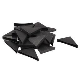 Wholesale furniture protectors - ABWE 24 Pcs Triple-cornered Shape Furniture Glass Table Corner Protector 10mmx75mm