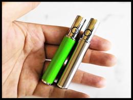 2019 stylo e cigarette tension variable stylo bille batterie préchauffage stylet vape stylo mini e cigarette pour huile épaisse cartouche de verre ouvert vape batterie S9 stylo e cigarette pas cher