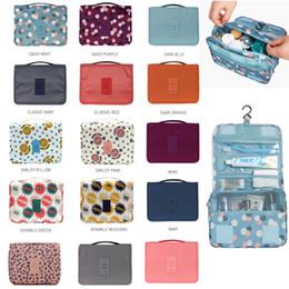 2019 sacchetto di viaggio per le ragazze Borsa da toilette Borsa cosmetica multifunzione Borsa da trucco portatile Borsa da viaggio organizzatore da viaggio impermeabile per borse da donna sacchetto di viaggio per le ragazze economici