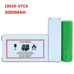 Wholesale Electronic Cigarette Battery Large - For LG HG2 18650 3000mah Electronic Cigarette Rechargeable Batteries Power High Discharge,30A Large Current