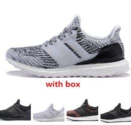 Wholesale Best Eur - Ultra 3 Oreo triple black cny best quality Men&Women Running Shoes Uncaged sneaker shoes size eur 36-45 free shipping wholesale