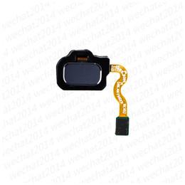 cable de huella digital Rebajas 50PCS Sensor táctil de huellas dactilares Volver Inicio Tecla de retorno Botón de menú Cable flexible para Samsung S8 plus S9 Plus Nota 8