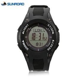 139771d0aee9 sunroad watches Rebajas SUNROAD Pesca para hombre Deportes Reloj digital  Termómetro de altímetro Pantalla LCD Brújula