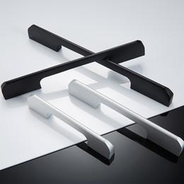 Gros aluminium profil tirer meubles chambre salle de bains chaussure armoire cuisine porte utilisation noir blanc poignées ? partir de fabricateur