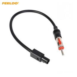 adaptador de antena estéreo de carro Desconto FEELDO Car Radio Estéreo Antena Adaptador Adaptador De Cabo Para VW / BMW / Audi / Porsche / Mini # 1514