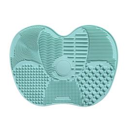 Limpeza cosmética on-line-Escova de Maquiagem de silicone Escova De Limpeza Ferramentas de Mão Ferramenta de Mão Grande Almofada Otário Placa de Lavagem de Limpeza Escova Cosmética Ferramenta