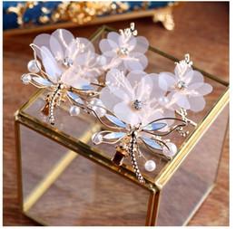 Barocco retrò di alta qualità fatto a mano Libellula bordo clip ornamenti per capelli da sposa, accessori corona gioielli da sposa, boutique copricapo, spot sal da