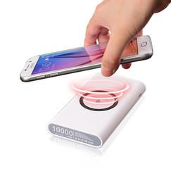 Argentina 3 en 1 batería de 8000mAh de batería de energía inalámbrica Cargador inalámbrico para IPhoneX 8 8plus Samsung S8 S8plus NOTE8 Suministro