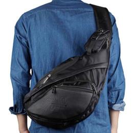 25dca82eaad3 High Quality Waterproof Nylon Rucksack Men Messenger Shoulder Cross Body  Bags Travel Assualt Male Sling Back Day Pack Chest Bag