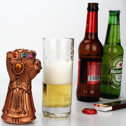 Canada Ouvre-bouteille Creative - Ouvre-bouteilles Avengers Thanos Infinity Gauntlet - Matériau en résine (emballage en carton transparent) cheap pack opener Offre
