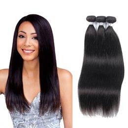 Acheter des cheveux péruviens vierges en Ligne-Achetez 3 Obtenez 4! Extensions de cheveux humains de vague de corps Peruvian Bundles de cheveux extension de cheveux vierges non transformés
