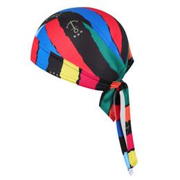 2019 mulheres usando gorro de cabeça Chuangdi marca Venda Quente Unisex Ciclismo Bandana Cachecol Piratas Cap Headsweats Homens Mulheres Vestido Chapéus Cabeça Desgaste Cap mulheres usando gorro de cabeça barato