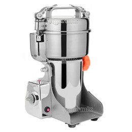 Wholesale Grain Grinders - 700g Swing Type Electric Grains Herbal Powder Miller Dry Food Grinder Machine high speed Intelligent Spices Cereals Crusher