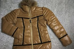Wholesale Thin Cotton Spandex Shorts - Sales Famous White Down Parkas Jackets Slim hoodies warm Down jackets outerwear shorts coats Top Fancy warm lady raccoon Fur snowcoat