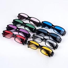 Wholesale health glasses - Multi Strength LED Reading Glasses Health Protection Reading Glasses With LED Light Night Vision aged Glasses KKA1756