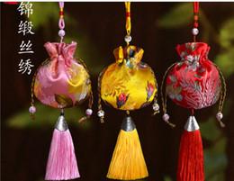 Canada Sachet de style chinois, en utilisant la technologie de broderie à la main chinoise est très exquis, emballage de boîte de fragrance.gifts lavande Offre