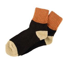 2019 coppie di lana di lana 1 paio di calzettoni invernali da donna a coste in lana calorosa e calda coppie di lana di lana economici
