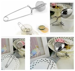 Wholesale Heart Shaped Spoons Wholesale - Heart shape Tea Infuser Stainless Steel Tea strainer Infuser Spoon Filter Tea Tools Filter Strainer Kitchen Home Tools KKA3652