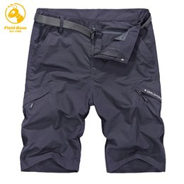 Wholesale Cargo Bottoms - Field Base Men's Shorts Summer CARGO Shorts 6 Color Multi-real Pocket Loose Mans Short Breathable Trousers Bottoms Whole Price