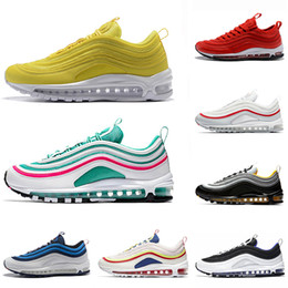 With Box Steelers 97 x UNDEFEATED OG UNDFTD Running shoes 97s SE Triple white black South Beach Persian Violet Men women sports Sneakers