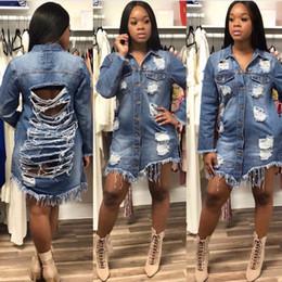 пейсли рукав куртка Скидка Весна осень сексуальные джинсовые куртки женщины отверстие бойфренд стиль с длинным рукавом старинные джинсовая куртка джинсовые свободные пальто Жан S-3XL