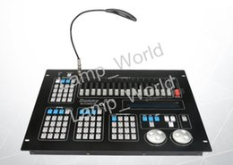 Wholesale dmx consoles - New Sunny Dj Controller Sunny512 Light Console 512 Dmx Channels Control 32 Moving Head Lights 2 output interface dmx controller